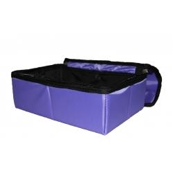 Лоток для туалета из ткани складной с крышкой (средняя)